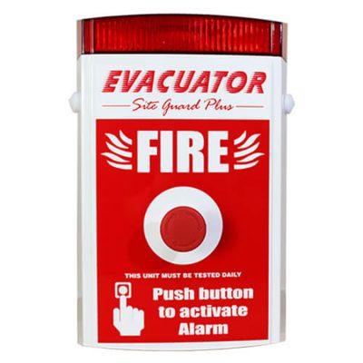 Evacuator Site alarm