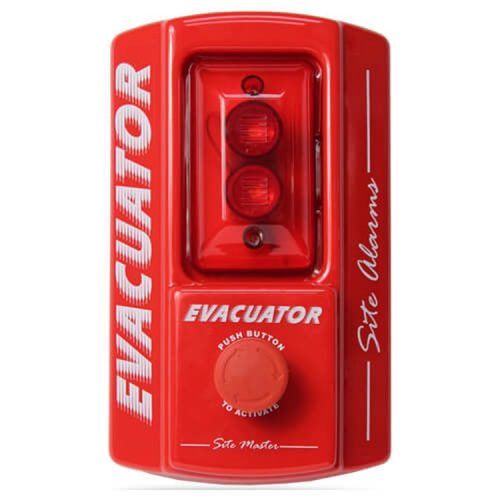 Evacuator Site Master site alarm