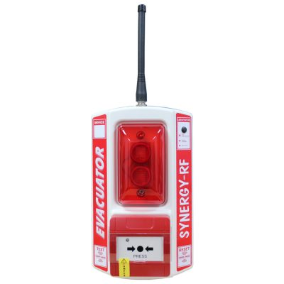 A wireless fire alarm call point