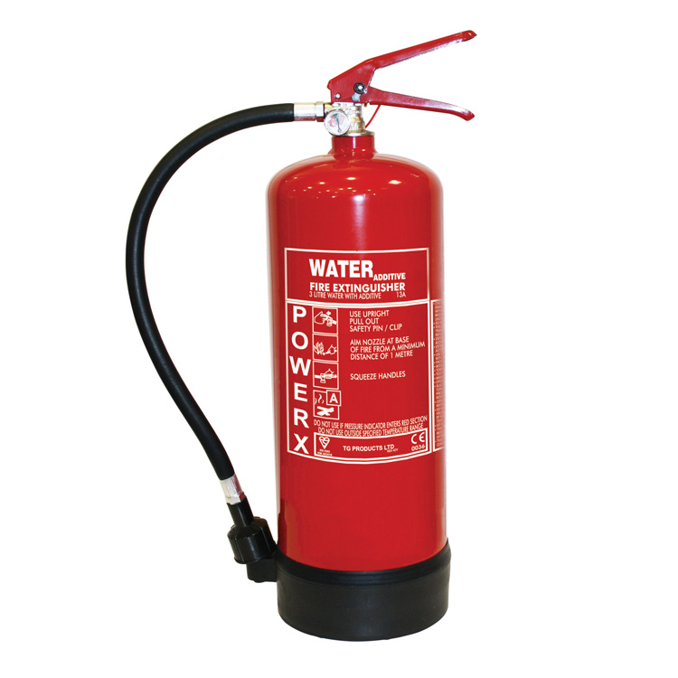 3ltr water additive fire extinguisher