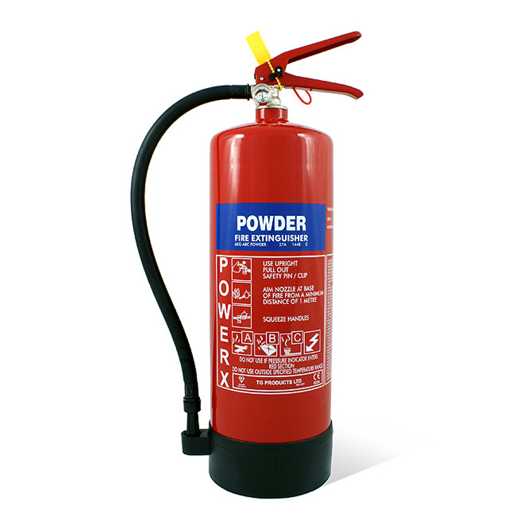 a 6kg dry powder fire extinguisher
