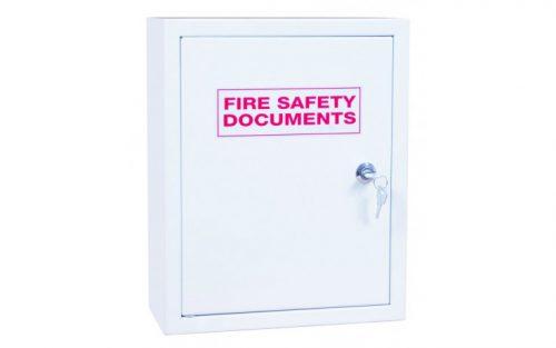 Document Box White