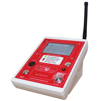 Evacuator-wireless-site-alarm