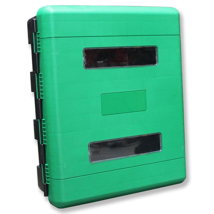 First Aid Storage Cabinet (Green Door) - Evacuator Alarms