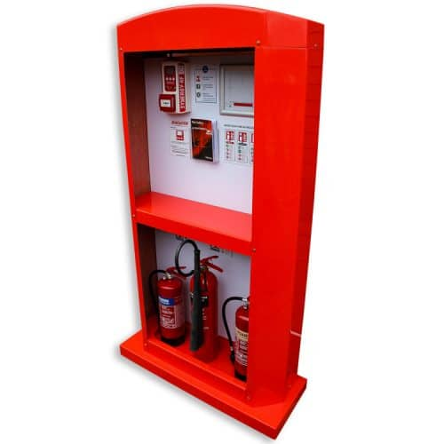 fire extinguisher hub master stand