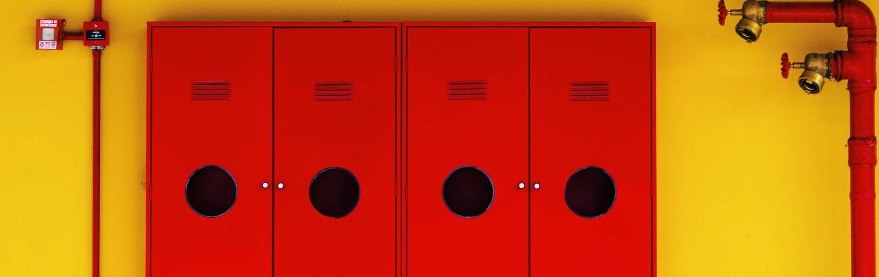 fire equipment storage